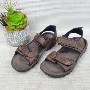 Rockport Men's Brown Leather Sport Sandals Sz 9 M